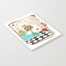 Alice's Book Alice in Wonderland Notebook