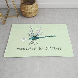 Damselfly in Distress Rug