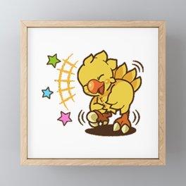 Star Chocobo Framed Mini Art Print