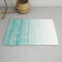 Turquoise sea Rug