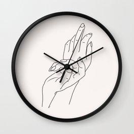 Graceful f u Wall Clock