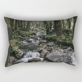 The Fairytale Forest - Landscape and Nature Photography Rectangular Pillow