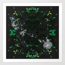 SYCAMORE STAMP  Art Print