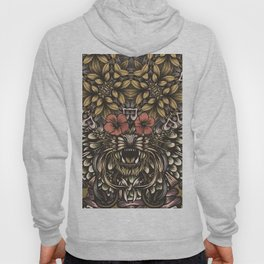 Tiger and flowers Hoody
