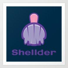 Shell(der) Art Print