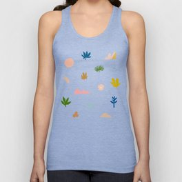 Abstraction_Nature_Wonderful_Day_02 Unisex Tank Top