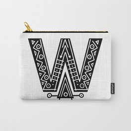 LETTER 'W' IMELA PRINT Carry-All Pouch