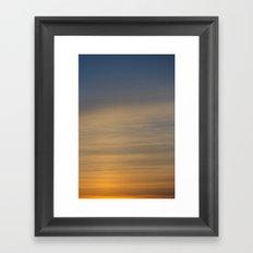 Nature's Gradient Framed Art Print