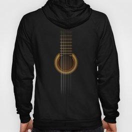 Full Guitar Black Hoody