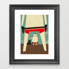high noon Framed Art Print