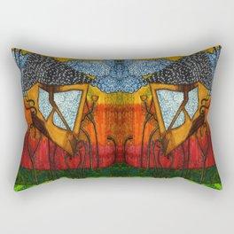Alice's Tea House Rectangular Pillow