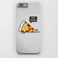 Funny & Cute Delicious Pizza Slice wants only you! Slim Case iPhone 6s