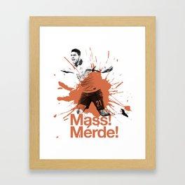 Mass 'Merde' Framed Art Print