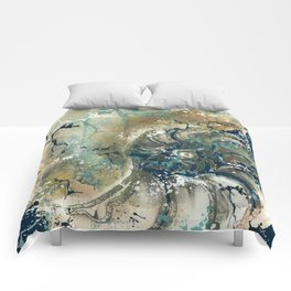Nautical Nautilus Comforters