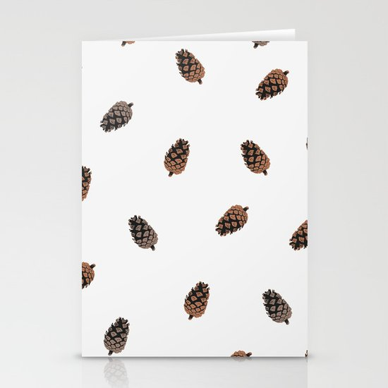 Cone Pattern Stationery Cards