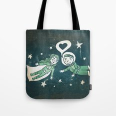 It's a funny story how we met Tote Bag