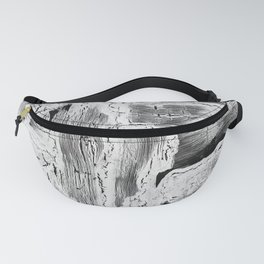 Abstract Artwork Greyscale #2 Fanny Pack