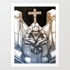 Gargoyle Art Print