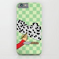 RAZOR CROSSWORD Slim Case iPhone 6s
