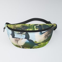 Canada Geese Dream | Painting Fanny Pack