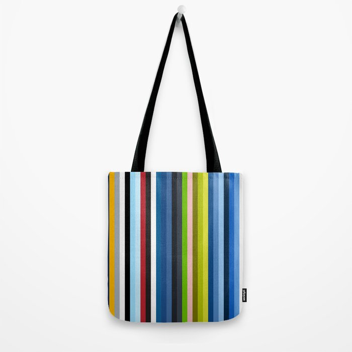 Mizuchi - Colorful Stripes Tote Bag