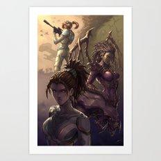 Kerrigan Art Print