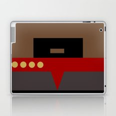 Captain Sisko - Minimalist Star Trek DS9 Deep Space Nine - Trektangle - Trektangles startrek Laptop & iPad Skin