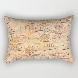 Vintage Ephemera 3 Rectangular Pillow