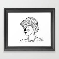 KATE (Kingston Falls 1984) Framed Art Print