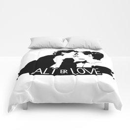 alt er love Comforters