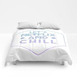 Netflix & Chill Comforters