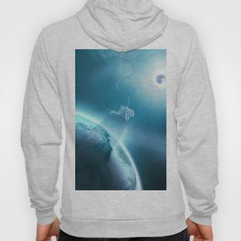 Astronaut Floating in Space Hoody