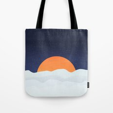 Sun On Mars Tote Bag