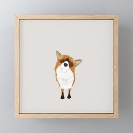 Adorable Fox Framed Mini Art Print