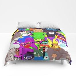 Cartoon characters Comforters