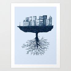 The World Against the World Art Print