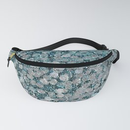 Mermaid Scales Aqua Sol Fanny Pack
