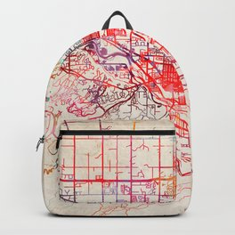 Grand Junction map Colorado CO Backpack