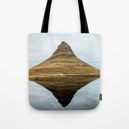 Mountain reflect Tote Bag