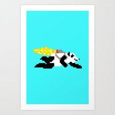 jetpack panda. Art Print