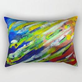 Underwater Painting Rectangular Pillow