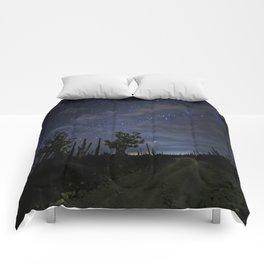 Stars over the desert Comforters