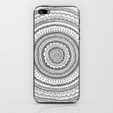 Carousel in B&W iPhone & iPod Skin