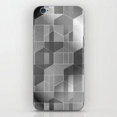 HexiPlaid Silver iPhone & iPod Skin