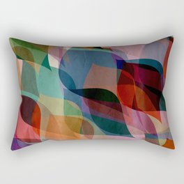 if you leaf me now Rectangular Pillow
