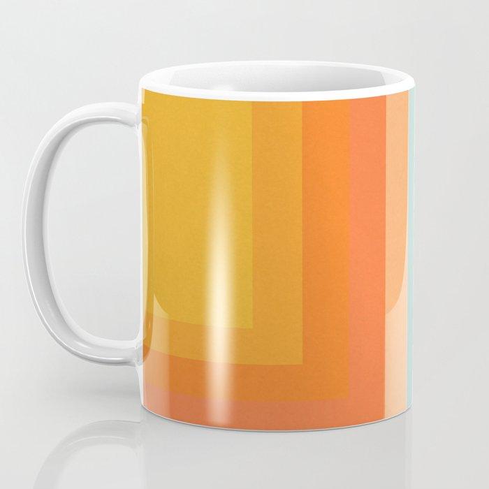 Retro 70s Color Lines Coffee Mug