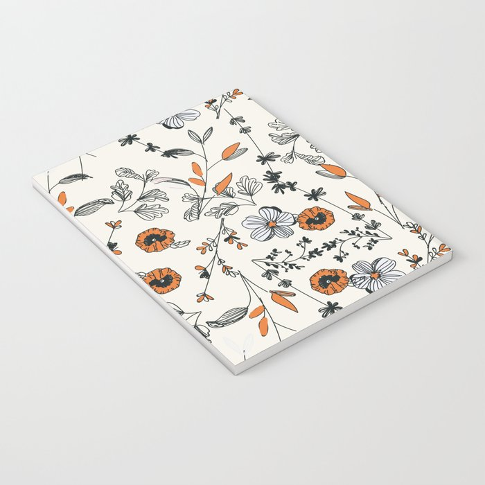 Floral pattern Flowers Notebook