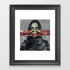 The Romantic. Framed Art Print