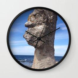 SHAPE OF A FACE I SEA Wall Clock