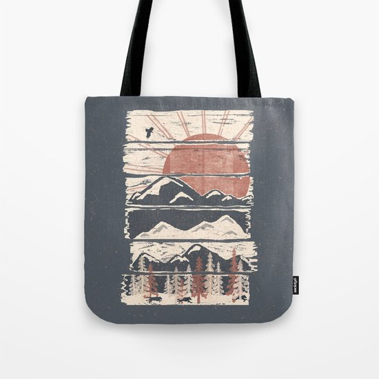 Winter Pursuits... Tote Bag